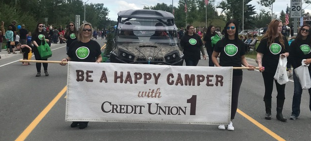 Credit Union 1 2018 Progress Days Parade in Soldotna