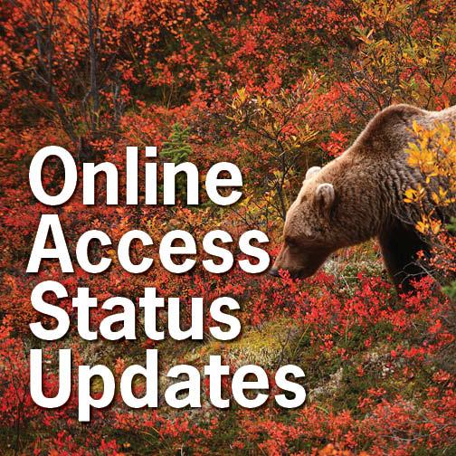 Online Access Status Updates